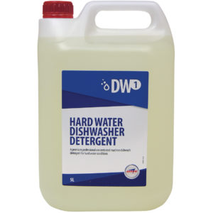 DW1 Hard Water Dishwasher Detergent from Arrow Solutions