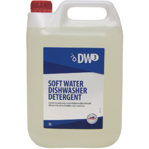 DW3 Soft Water Dishwasher Detergent from Arrow Solutions