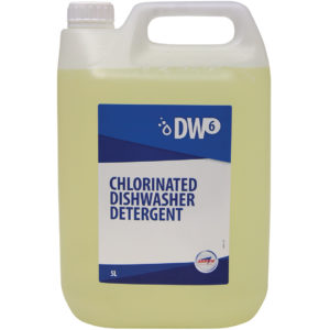 DW6 Chlorinated Dishwasher Detergent from Arrow Solutions