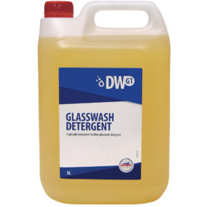 DW G1 Glasswash Detergent from Arrow Solutions