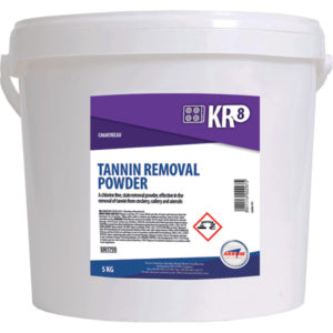 KR8 Tannin Removal Powder from Arrow Solutions