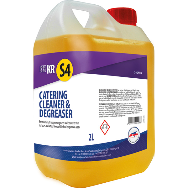 KR S4 Catering Cleaner & Degreaser Concentrate product image