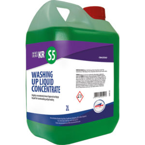 KR S5 Concentrated Washing Up Liquid from Arrow Solutions