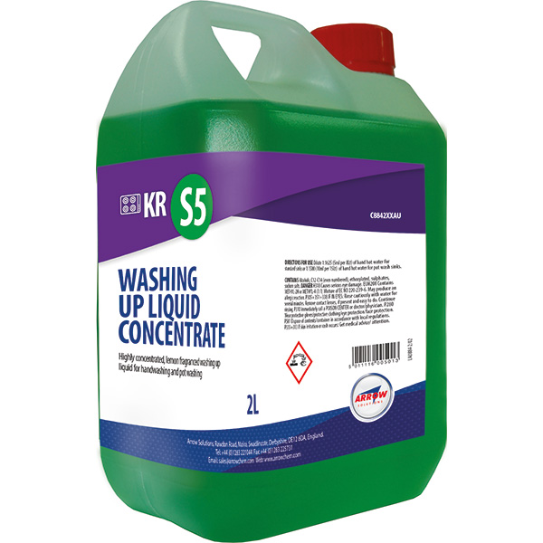 KR S5 Washing Up Liquid Concentrate product image