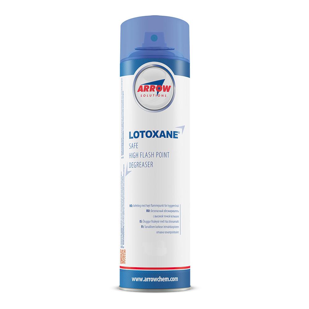 Lotoxane aerosol