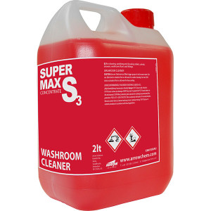 S3 Supermax Washroom Cleaner from Arrow Solutions