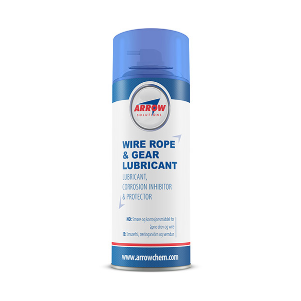 WIRE ROPE & GEAR LUBRICANT has been specifically formulated to ...