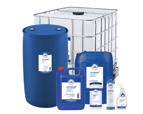 Lotoxane degreasing range