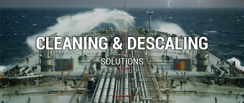 marine cleaning & descaling products
