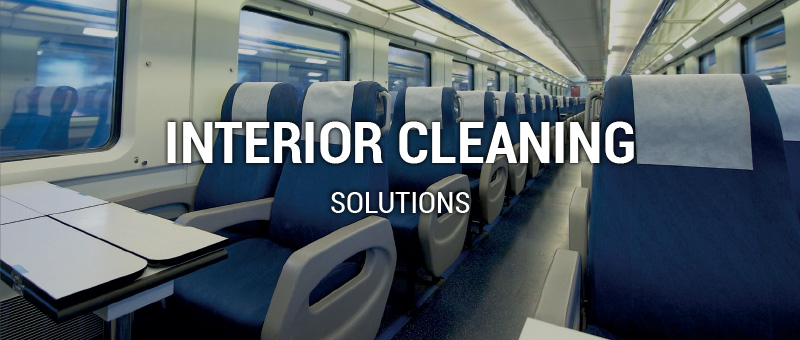 rail interior cleaning