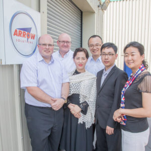 ICAC visits Arrow