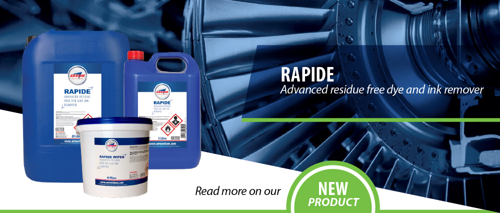 Rapide Advanced residue free dye and ink remover