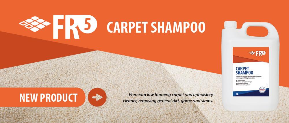 FR5 Carpet Shampoo