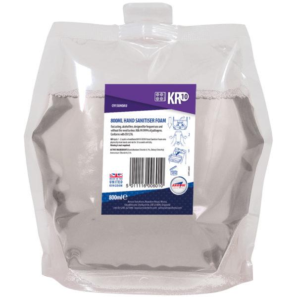 KR10 Hand Sanitiser