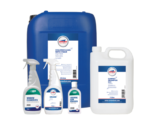 Rail cleaning products