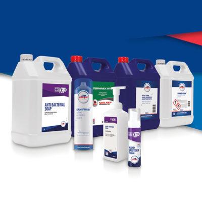 Sanitising Product range